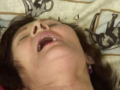 suck, granny, cumshot, facial,