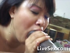 Asian mom and big blac...