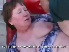 Granny fucked in the ass by young healthy cock