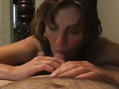 oral, girl, milf, cum, swallow