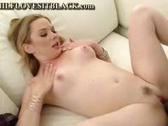 blowjob, dick, hardcore, black, anal, blonde, milf, interracial