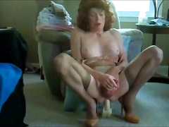 amateur, mature, masturbation