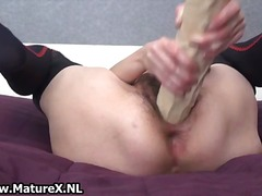 hardcore, solo, older, masturbation,