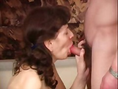 Drunk mom takes juicy cock