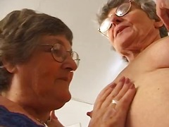Dr Tuber - Lesbian Grannies get horny when comparing their underwear
