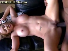 Busty brunette MILF screams out as he...