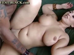 blowjob, tits, black, natural,