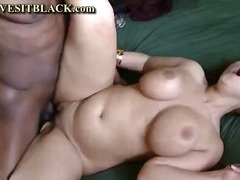 blowjob, tits, black, natural, milf