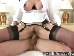 facial, stockings, blowjob, heels,