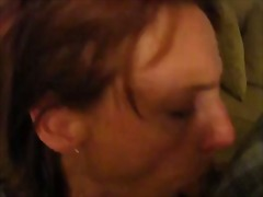 mature, amateur, facial, blowjob,