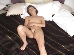 Hot Milf Strips,poses And Gives A Blo...