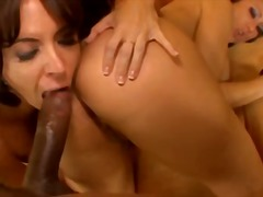 oral, milf, threesome, blowjob