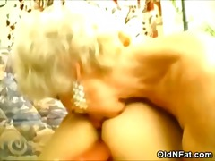 Granny Dildoing Her Pa...