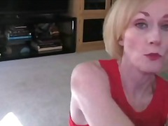 matures, blonde, mature, blowjob,