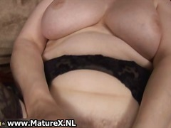 granny, wife, dildo, solo, fetish, older, stockings, amateur, mature, masturbation