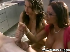 jerking, amateur, milf, mature,