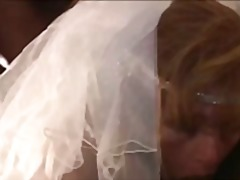 Bride on her wedding night cuckolds h...