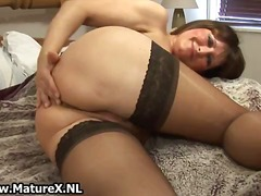 Dirty old mom in sexy ...