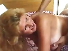 Mature in boots fucked...