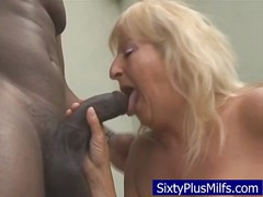 mature, gilf, interracial, grandma