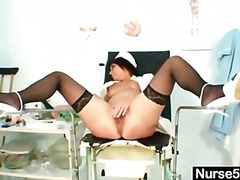 fetish, masturbation, nurse, toy,