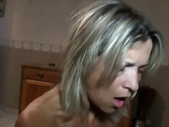french, blonde, amateur, blowjob, threesome, mature