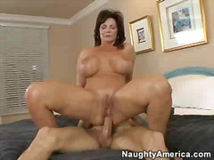 Nuvid - Deauxma Gets Her Ass Fucked By A Young Stud