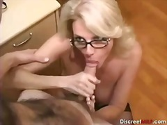 Hot Mature Secretary seducing younger...
