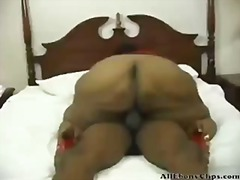 Older Ebony Bbw  black ebony cumshots...