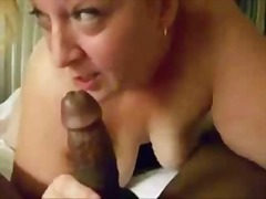 Blonde Mom Sucking Har...