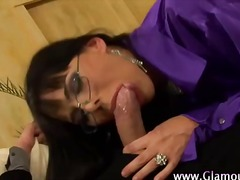 Cock loving euro whore gets a facial