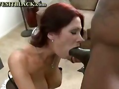 milf, blowjob, black, interracial,