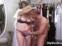 deepthroat, rough, blonde, hardcore, fingering, mature, busty, blowjob, facial, riding, doggystyle