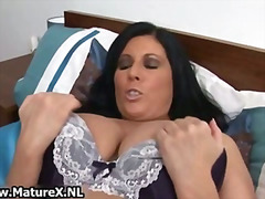 Sexy mature lady with ...