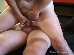 old, milf, pussy, fucking