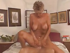 Mature cocksucker with...