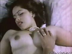 Indian wife Desi is getting her breas...