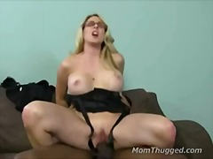 milf, blonde, slut, white, bigcock