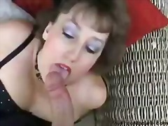 mature, british, blowjob, cumshot, blow