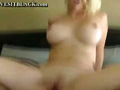 interracial, blonde, milf, mature,