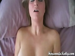 Amateur wife has intense orgasm