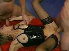 french, blowjob, mature, gangbang,