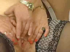 stocking, mature, granny, hairy,