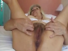 mature, lady, granny, masturbation,
