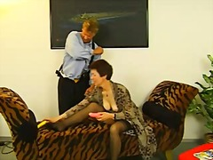 stockings, granny, grannies, hairy,