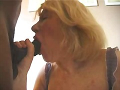 French Granny Gets BBC...