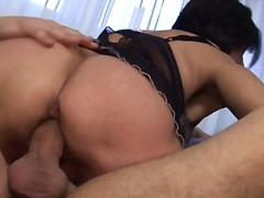 Mature Granny with Hairy Bush Fucked ...