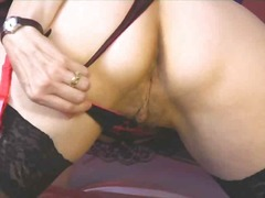 alexis silver,  stockings, mature,