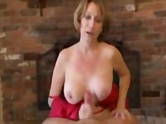 Mature Handjob  With Amazing Cumshot ...