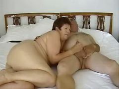 Jane and Dave - mature couple - handjob